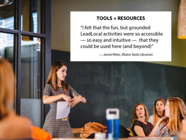 Tools, resources, intuitive, library, activities, Brooke McDonald