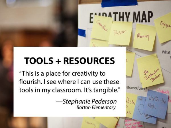 Off Script, retreats, resources, professional learning, pl, education, teacher, empathy map, classroom, creativity, flourish, tools