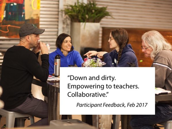 Off Script, collaboration for classrooms, empowering to teachers, collaborative, professional learning, education