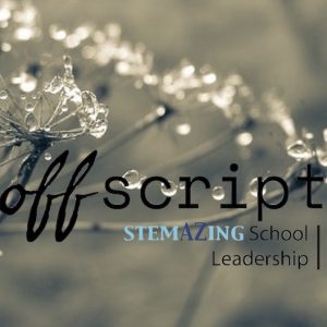 Off Script, StemAZing, school leadership, professional learning